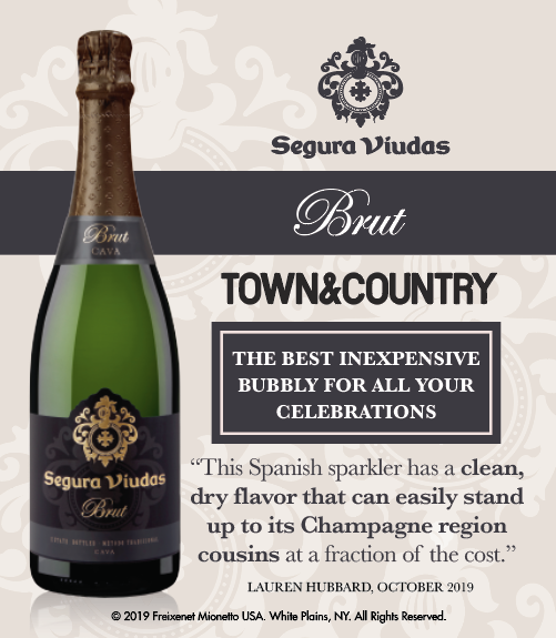 Segura Viudas Brut - Town&Country - Best Inexpensive Bubbly - Shelftalker