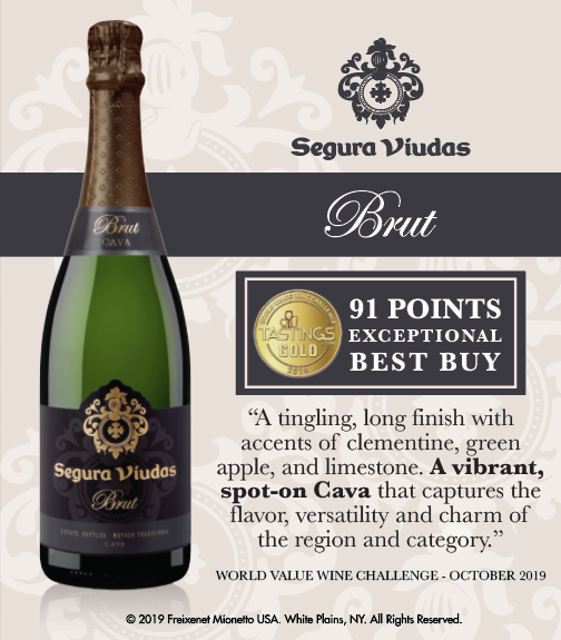 Segura Viudas Brut - World Value Wine Challenge - 91PTS - Shelftalker