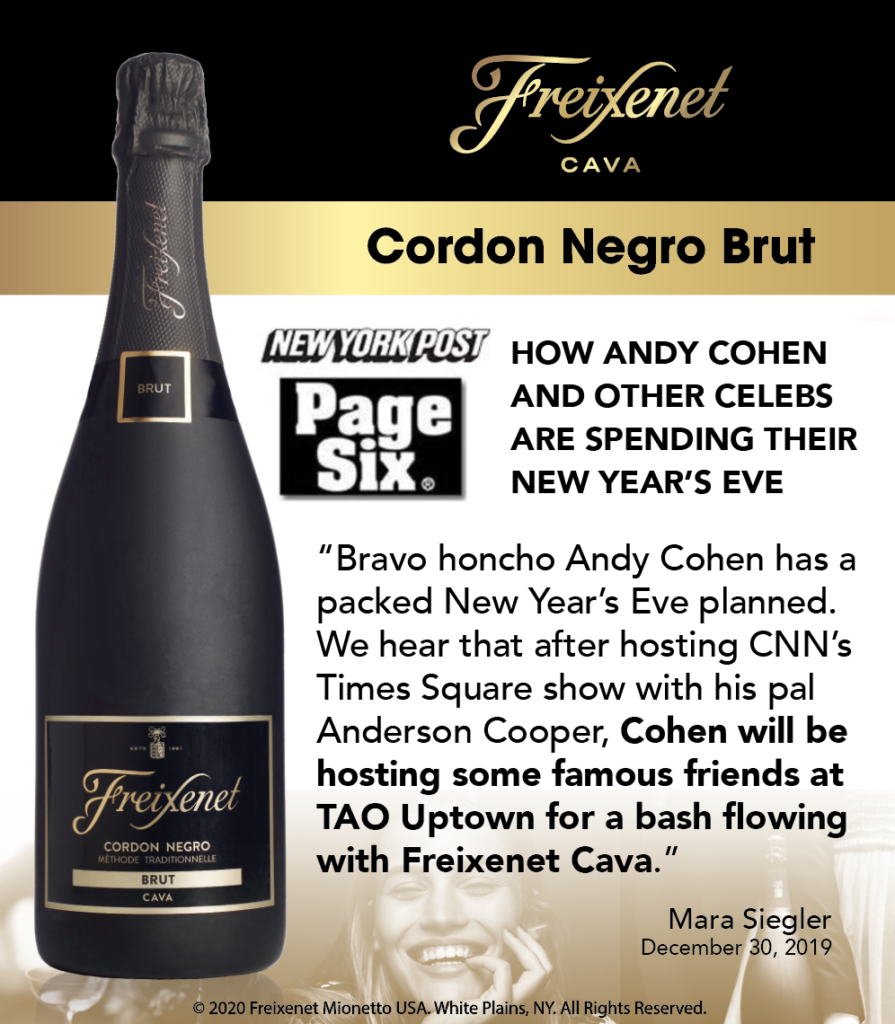 Freixenet Cordon Negro Brut - NY Post Page 6 - Shelftalker