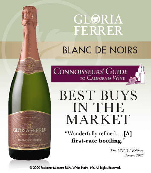 Gloria Ferrer Blanc de Noirs - Connoisseurs' Guide - BEST in MARKET - ShelfTalker