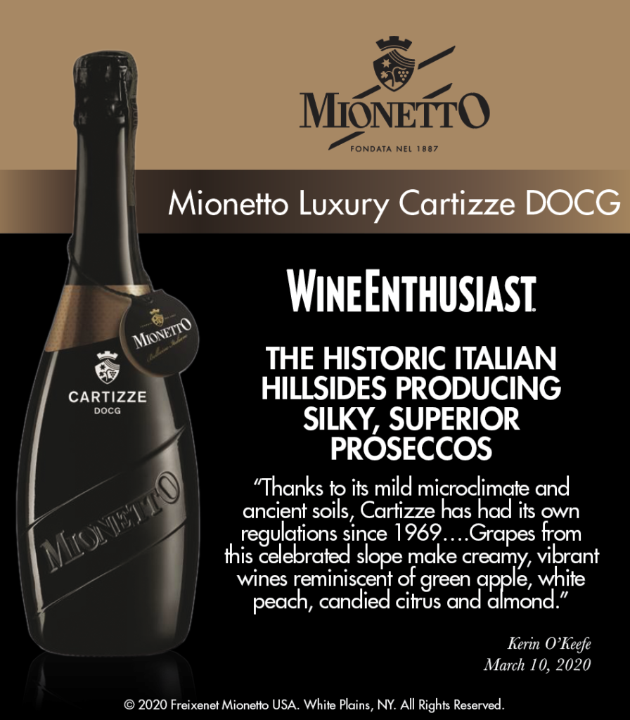 Mionetto Luxury Cartizze - Wine Enthusiast - ShelfTalker