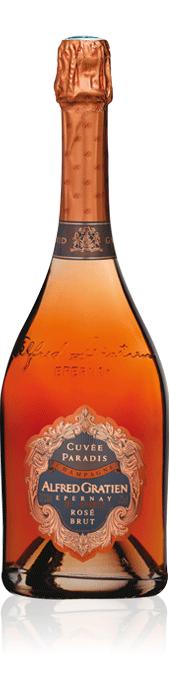 Alfred Gratien Cuvée Paradis Rosé bottle