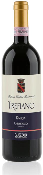 Capezzana Trefiano Carmignano DOCG bottle