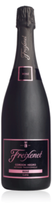 Freixenet Cordon Negro Rosé bottle