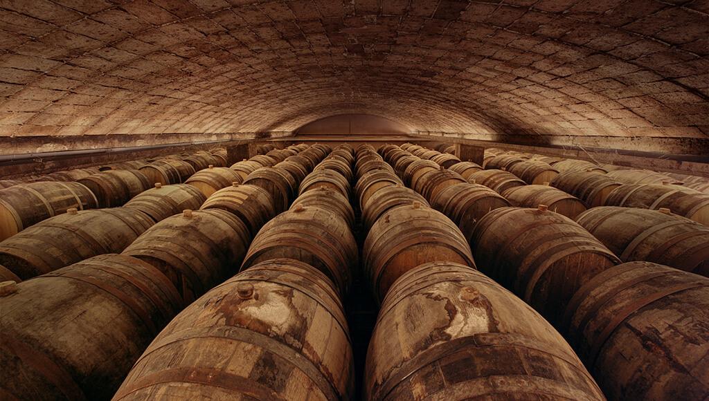 Freixenet Cava Barrels