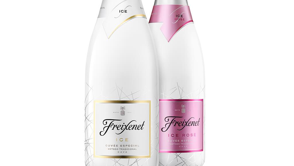 Freixenet ICE Cuvee and Rose bottle shot