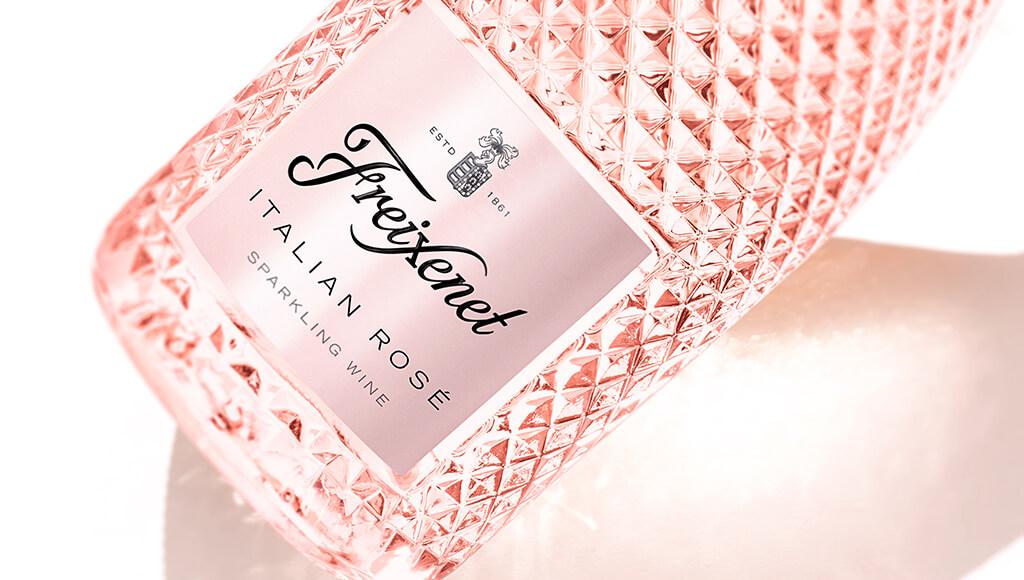 Freixenet Italian Rosé Bottle
