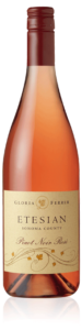 Gloria Ferrer Etesian Pinot Noir Rosé bottle