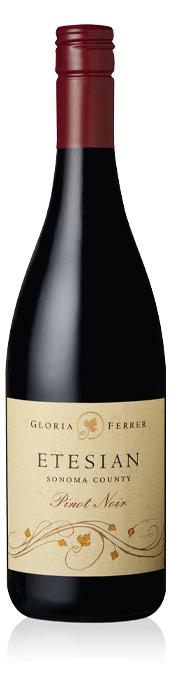 Gloria Ferrer Etesian Pinot Noir bottle
