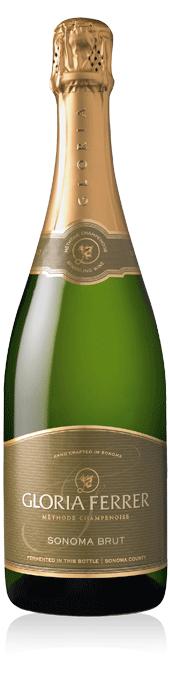 Gloria Ferrer Sonoma Brut bottle