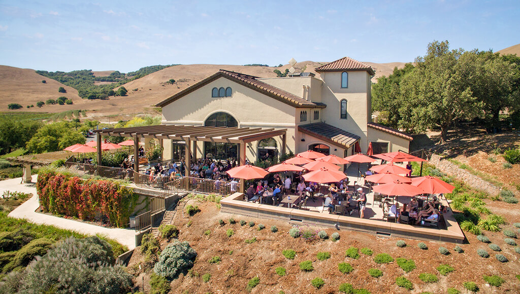Gloria Ferrer Winery and Terrace