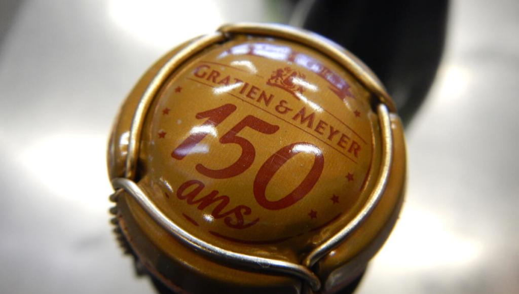 Gratien & Meyer 150 years Muselet