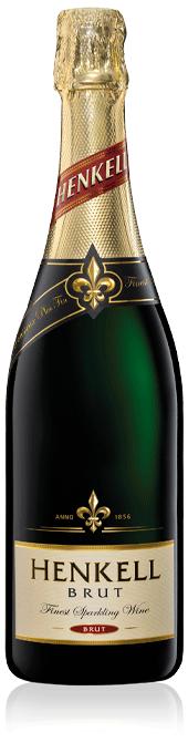 Henkell Brut bottle