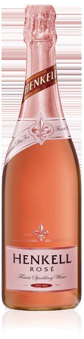 Henkell Rosé bottle