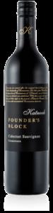 Katnook Founder's Block Cabernet Sauvignon bottle