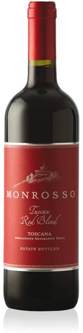 Monrosso Tuscan Red Blend bottle