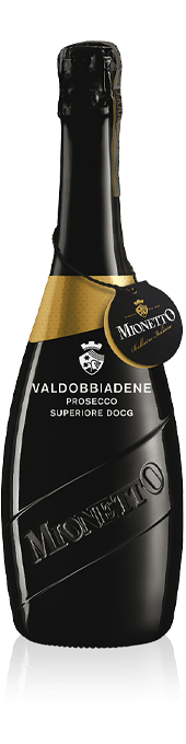 Mionetto Luxury Valdobbiadene Prosecco Superiore DOCG Extra Dry bottle