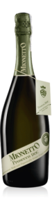 Mionetto Organic Prosecco Doc Extra Dry bottle