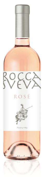Rocca Sveva Rosé bottle