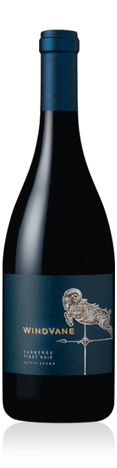 WindVane Carneros Pinot Noir bottle