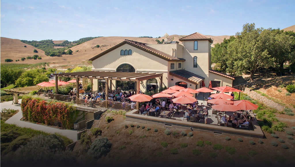 Gloria Ferrer Winery and Terrace