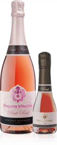 Segura Viudas Rosé bottle