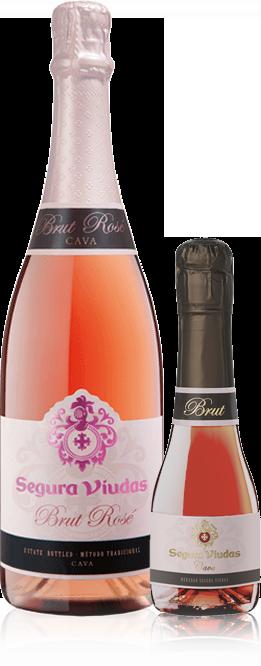 Segura Viudas Rosé bottle