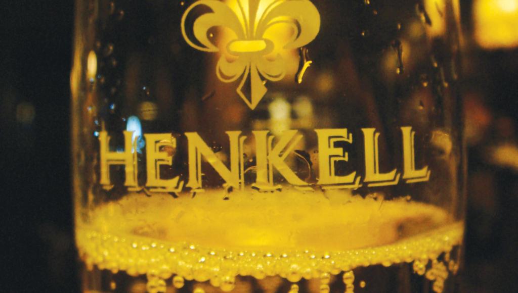 henkell wine glass