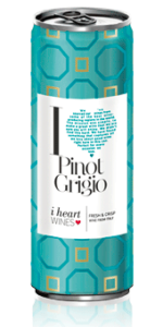 iHeart Pinot Grigio can