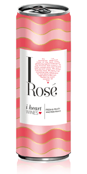 iHeart Rosé can